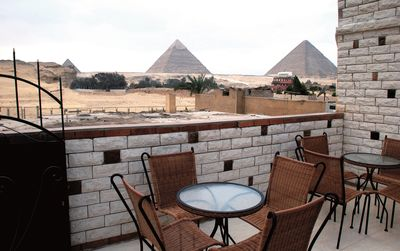Photo for Apartment with Pyramid view, with air conditioning, terrace and WiFi.