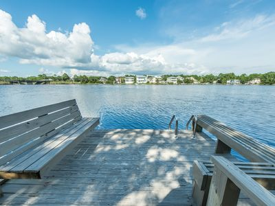Photo for 2 Kings! Private Dock! Coastal Dune Lake! ~ Paddledown at Seagrove Beach 30A