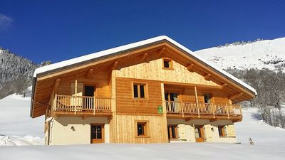 Photo for Homerez last minute deal - Amazing chalet with balcony and Wifi