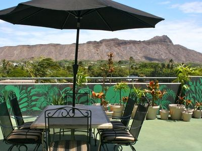 Photo for Huge, 1100 square ft private lanai with panoramic view of Diamondhead