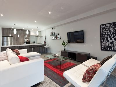 Photo for AMAROO by the beach -  Magnificent townhouse close to Swan Bay.
