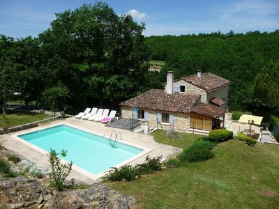 Photo for House with private pool - Lot Valley / Périgord