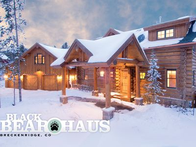 Photo for Luxurious Log Home with Pool Table & Hot Tub