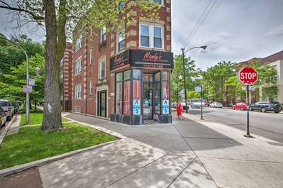The 4-bedroom, 3-bath home is in the Logan Square neighborhood.