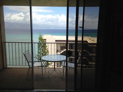 Beautiful view from your private lanai.