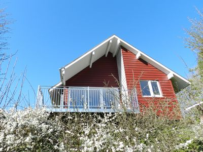 Photo for Detached two bedroom self catering lodge set in secluded rural hideaway.