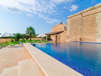 Photo for CAN MAYOL - Villa with private pool in CAMPOS.