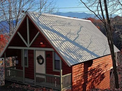 Photo for FREE ATTRACTION TICKETS, Heart Jacuzzi, Hot Tub, Close to Downtown Gatlinburg