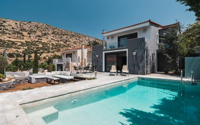 Photo for Villa Adam ,Very Close to the Temple of Poseidon. Private Pool next to the beach