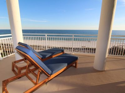 Photo for La Playa 301- Gorgeous 3rd Floor unit with Wrap Around Balcony!