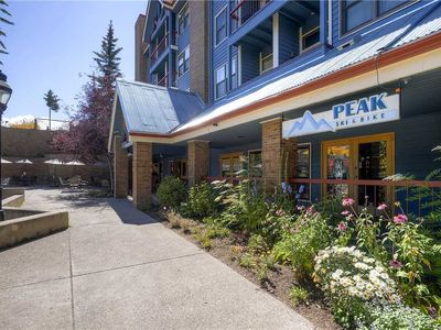 Photo for Unit in downtown Breckenridge with pool & hot tub, biking/hiking trails