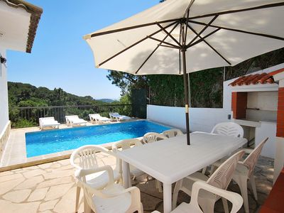 Photo for Club Villamar - Spacious detached holiday villa Lloret de Mar with beautiful view and private swi...