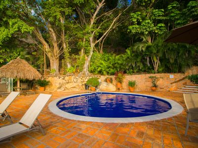 Photo for Luxury, rustic and peaceful Beach Front Condo Solamar in Amapas Zone!