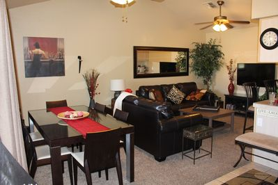 Main living/dining room open room concept , High quality Luxury furnishings