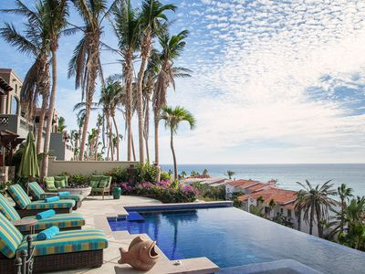 Photo for La Terraza | Chic Oceanfront 4BR | Palmilla | Infinity Pool Views
