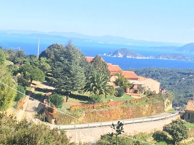 Photo for Dream villa between sea and mountains on the green and sporty island of Elba