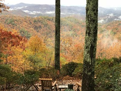Fall Splendor from the fire pit