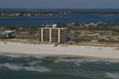 Low Density complex on an expansive stretch of beach