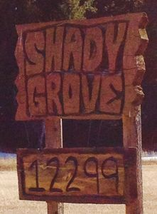 "Shady Grove:  Like us,  visitors have called it ""paradise"".  Enjoy your stay!"