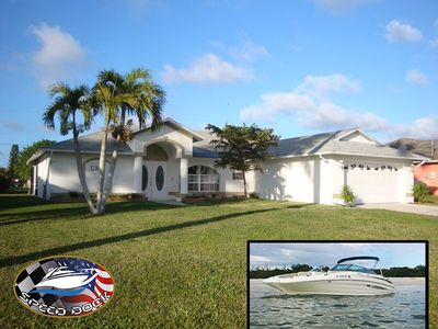"Photo for Villa ""Sunrise"" Generously-scale villa in SE Cape Coral with pool"
