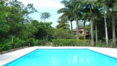 Photo for Beautiful house in Gated Community with large area of Leisure, Tennis Court.