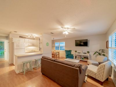 Photo for BEACHIN' BUNGALOW ~ Adorable Beach Cottage, Pet Friendly! Newly Updated!