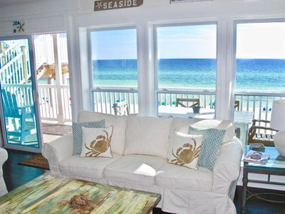 Photo for Private Beach Access from Balcony | Gulf-Front | Gorgeous | Sugar Dunes 11