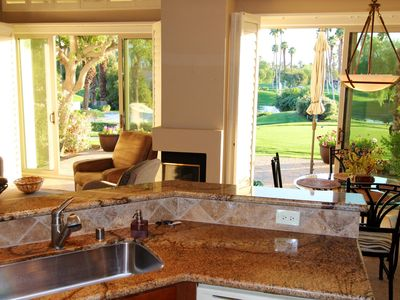 Photo for Palm Desert Home w/Gorgeous Mountain, Lake & Pool Views on the Golf Course!
