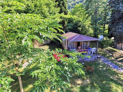 Photo for Recent mobile home in the heart of nature, riverside