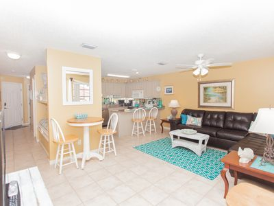 Photo for Amazing Condo Only Steps to the Beach!  Great Rates!  Pool Right Outside Condo
