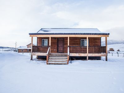 Photo for Bar Lazy E Ranch King Suite Cabin (River Front and Pet Friendy)