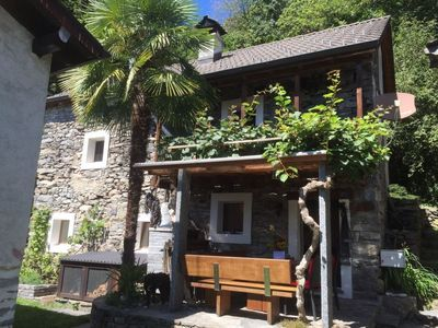 Photo for Vacation home Casa Anna  in Agarone, Ticino - 5 persons, 3 bedrooms
