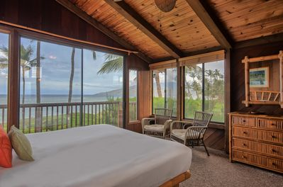 Master Bedroom with incredible ocean views