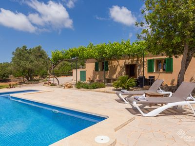 Photo for Son Fornes - Beautiful villa with pool and garden in Algaida