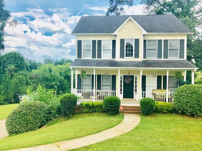 Photo for Large serene lakeview home within close proximity to Atlanta area attractions