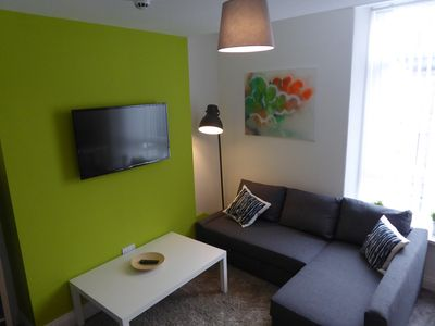 Living Area with Double Sofabed.