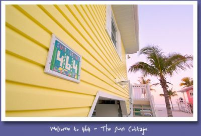 Photo for The Sun Cottage at the Cottages of Paradise Point - Gulf Side 3bd/3ba North End
