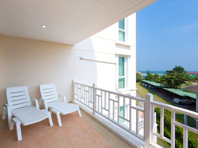 Photo for Baan PooLom HH_2Bedroom Apt SeaView:BCC
