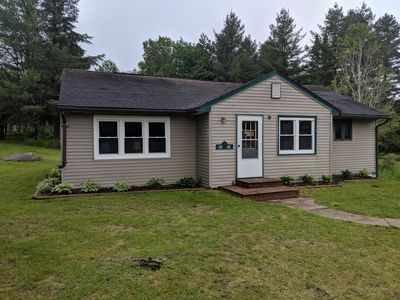 Ranch style house on main road between Cranberry & Tupper Lakes