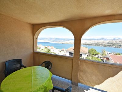 Photo for Apartment 210 m from the center of Pag with Parking, Internet, Terrace (121643)