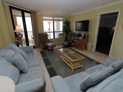 Photo for Summer House 202/ 3 BR Oceanfront Condo