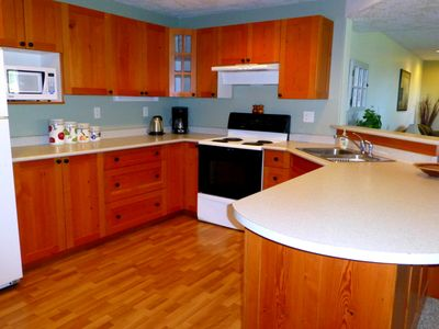 Kitchen with all the ammenities