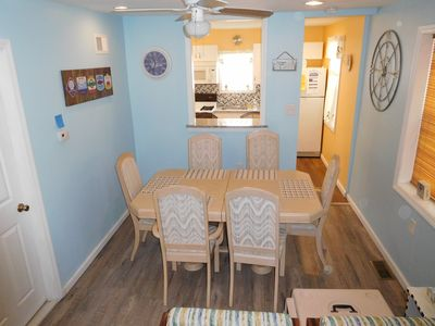 dinning area, seat six or more!  House has central air conditioning.