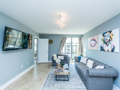 Photo for New Property! Cozy Modern Condo With Beach Access