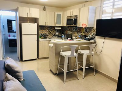 Photo for Lovely apt remodeled with laundry/pkg/pet friendly