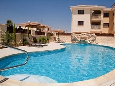 Photo for Beautiful Private Roof Top Terrace overlooking Pool, Sea & Mountains