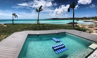 Photo for 2 Bedroom Waterfront Paradise, Sayle Point House, Eleuthera Bahamas