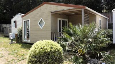 Photo for Camping du Bord de Mer *** - Chalet 4 Rooms 6 People