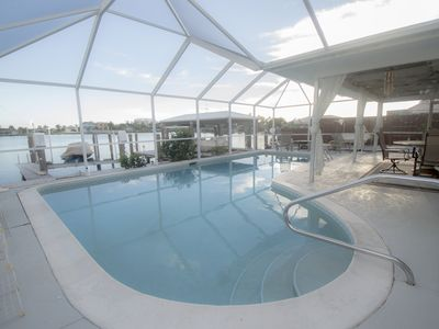 Photo for Waterfront Paradise Home With Pool On Isles Of Capri