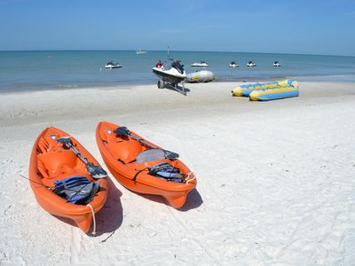 Plenty of activities for the whole family on Clearwater Beach.